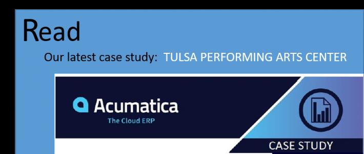 Tulsa Case Study/ Acumatica